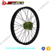 21 Inch Spoked Custom Front Alloy Wire wheels for KAWASAKI racing bike