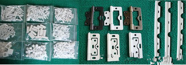 PVC/hard wooden plantation shutter components hinges/pins/magnet for blinds