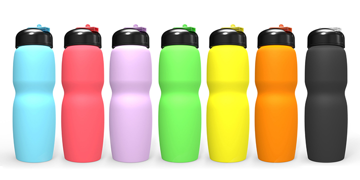 Cute Private Label Flat Kids Insulated Water Bottle