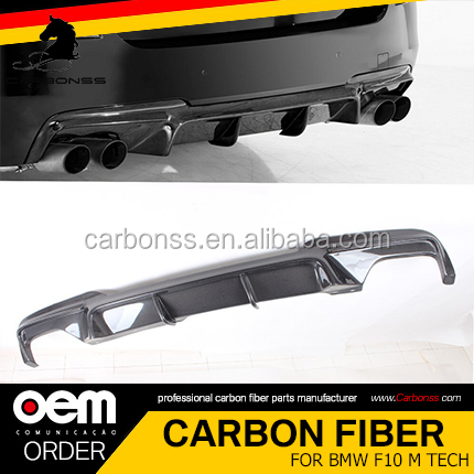 REAR BODYKIT CARBON DIFFUSER FIT FOR BMW F10 M TECH V TYPE 2010-2016
