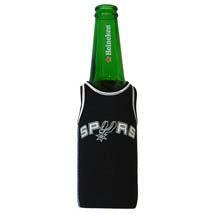 Black T-shirt neoprene beer bottle cooler bottle cooler sleeve