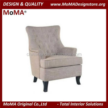ma it314 hotel furniture tufted armchair lounge chair design view