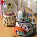 Resin Snowball, Snow Globe Toys, Electric Snow Globes