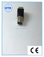 Huayankai DC power connector BNC male plug to DC terminal