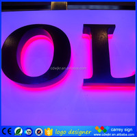 Led signs and light welcome led signs indoor led backlight letter