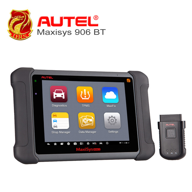 Advanced Car Diagnostic Tool Autel MaxiSys MS906BT Featured with Coverage of OE-level Diagnostics&ECU Coding Capability