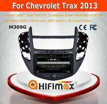 Hifimax Best Price Andriod 4.4.4 Car Radio Multmedia For Chevrolet Trax (2013-2014) DVD GPS For Chevrolet Trax 2013 With Wifi 3G