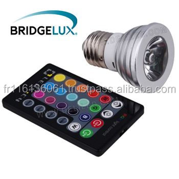 2014 Newest LED RGB 4W Bulb CE & RoHS Certified with 3 years Warranty