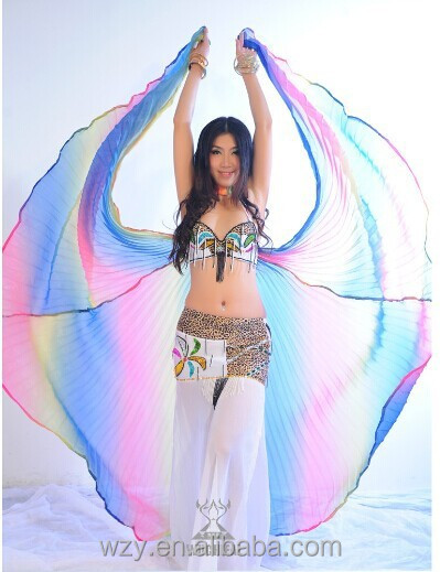 Polyester Belly Dance isis Wing