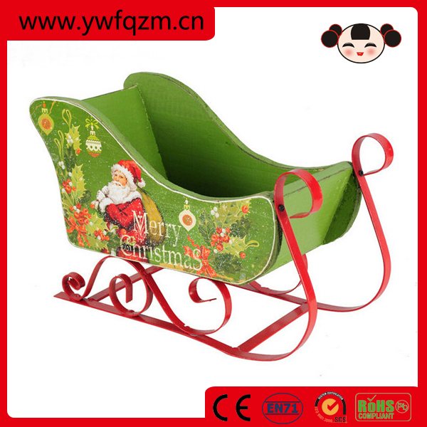 2015 christmas gift sleigh car wholesale christmas craft for Craft supplies online cheap