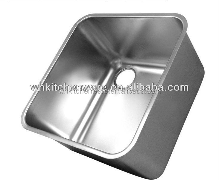 Commercial Handmade stainless steel oulin orange kitchen sink overflow
