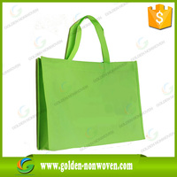 Supermarket promotion reusable customized nonwoven shopping bag/folding tote bag