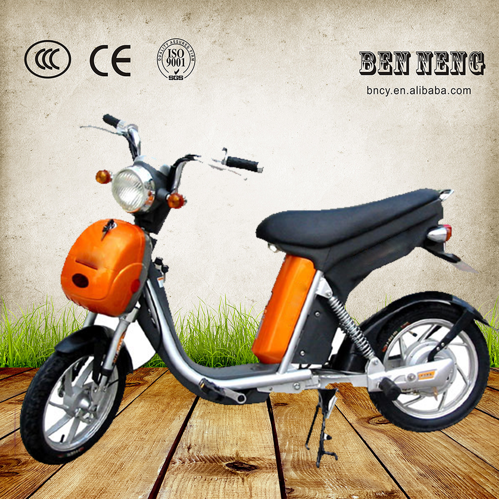 Chinese cheap electric bike with basket motorcycle hybird