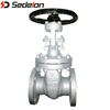 ASTM DIN Flange Gate Valve manufacture for oil water gas