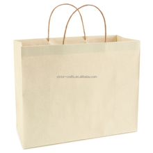 Promotional bag cream large christmas gift bag paper bag for flour packaging