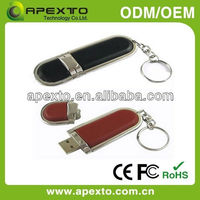 high resolution gifts or promotion good choice usb leather case (U-503D)