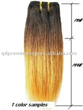 Brazillian remy hair weft