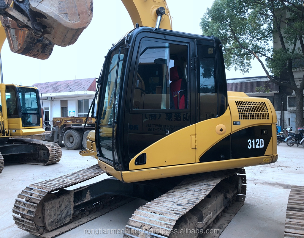 Strong Power Equipment Cat 312D Model for heavy work/ Working Condition Excavator for sale