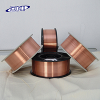 Quality promotional Copper mig co2 welding wire 0.8mm
