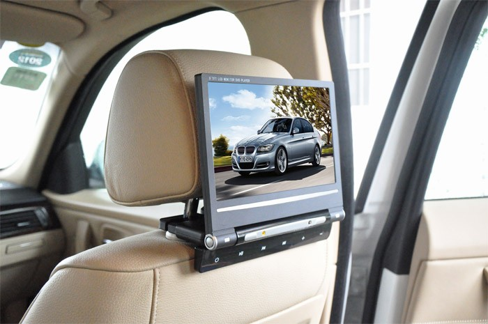 9 inch car dvd player in dash with FM radio bluetooth TV radio tuner