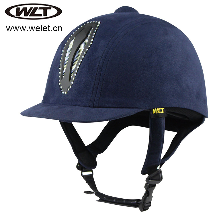 equestrian helmet WLT-801B with diamond/bling