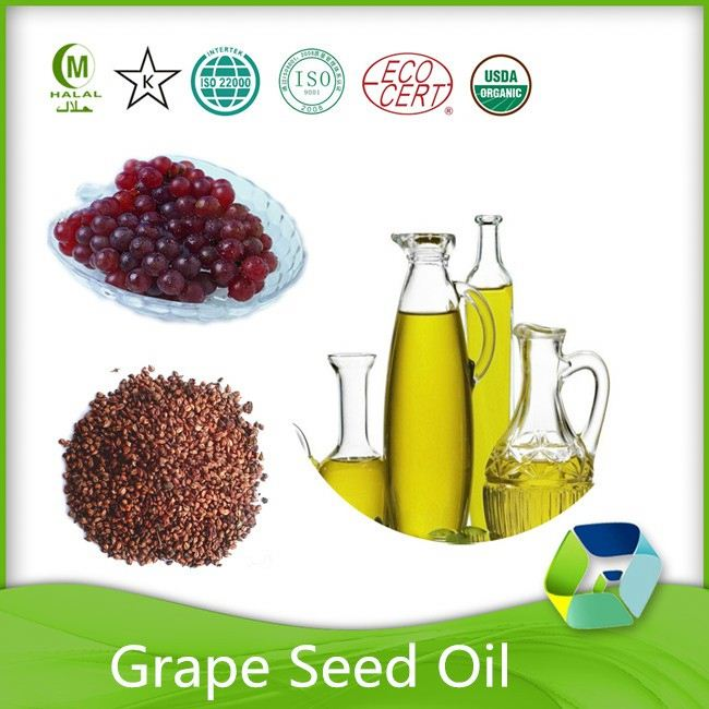 healthy product best price organic grape seed oil gmp