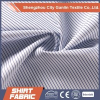 garment fabric check/stripe yarn dyed tc fabric for man shirts wholes fabric
