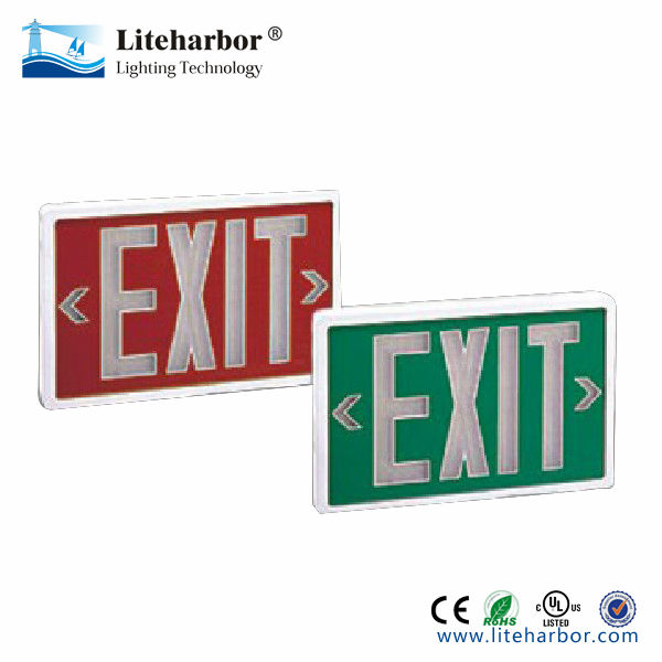 self powered exit signs China manufacturer