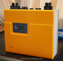 Jntech manufacture complete set supply 3KW home use hybrid solar panel power inverter and storage system