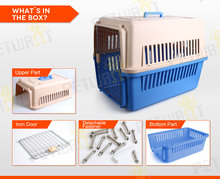 Top quality wholesale high loading capacity plastic pet cage