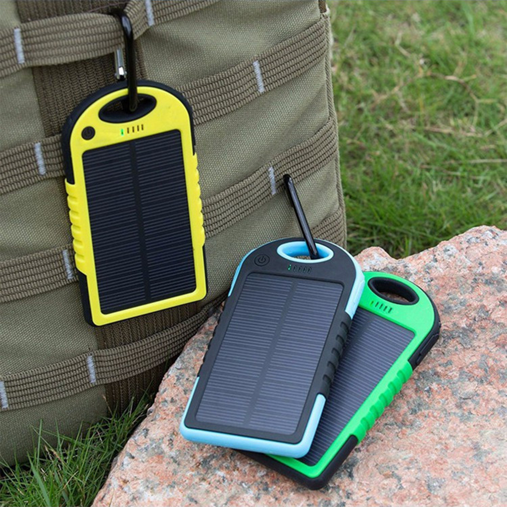 portable solar fast charging power banks