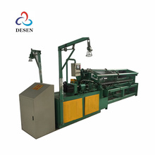 chain link fence hook diamond wire mesh making machine