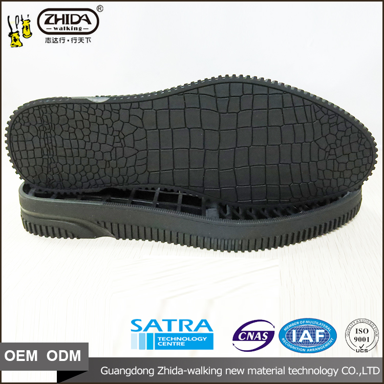 trade assurance breathable ClassicEU size 38-43 male business rubber Shoes Sole