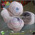 2014 Hot! decorative pretty white giant paper flower
