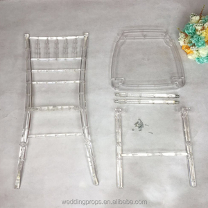 Wholesale wedding acrylic chairs banquet chair tiffany chair