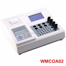 WMCOA02 new medical coagulation analyzer machine