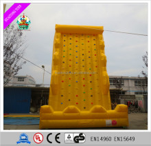 China manufacture direct sell artificial used rock climbing wall