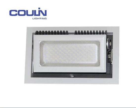 Coulin GS EMC Square LED Downlight, UL High Power LED Down Lights, SAA 38W Square IP65 LED Downlight