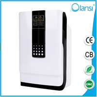 Portable Negative ion Olans air cleaner home air purifier with HEPA filter with UV Light from Guangzhou china manufacturer