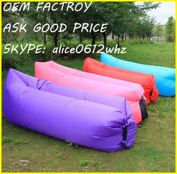 2016 high quality products traveling laybag fast inflatable lounge chair air lounge sofa for outdoor usage sofa fabric lazy boy