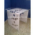 2011403146 Engraved Lucite Side Desk Table