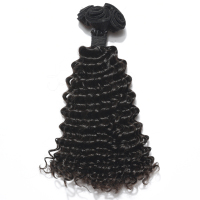 Finest And Natural Extensions VV Virgin Brazilian Human Hair Pieces For Black Women Afro Kinky Hair