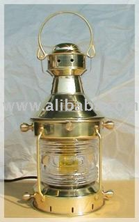 Nautical Small Norway Anchor Oil Lamp