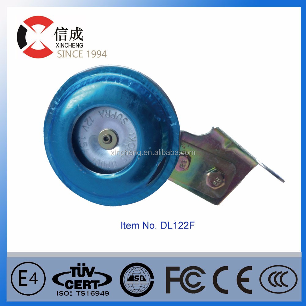 electric cars made in china wholesale importer of chinese goods 12V black motor horn for vehicle