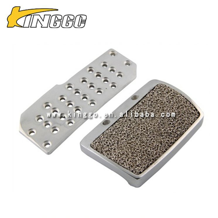factory price Aluminum silver MT / AT racing brake pedal