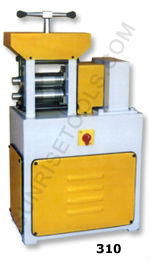 Electric Single Head Wire & Sheet Rolling Mill , Jewelry Tools Supplies