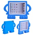 Kids shockproof rubber bumper case cover for ipad 2 3 4