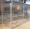 10ft Long Welded Mesh Dog Kennel Panel with metal roof