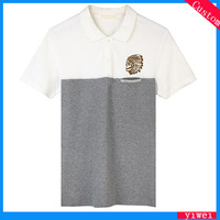 2016 New Style High Quality Colored Mens Polo T- shirt Mens t-shirts 100% cotton