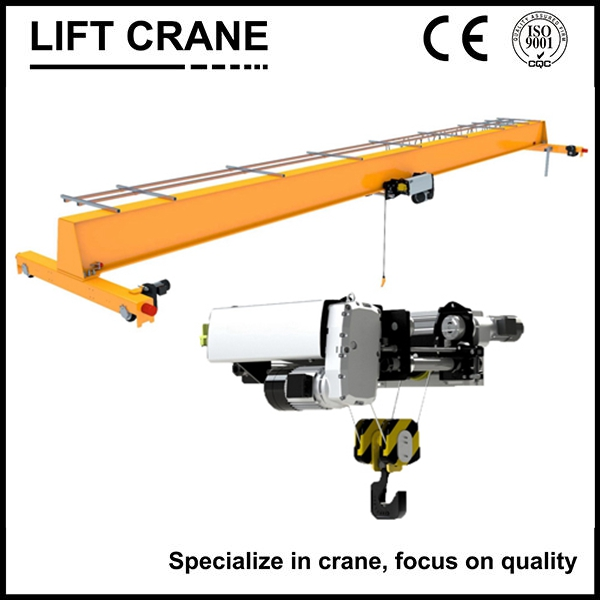 European single beam overhead crane